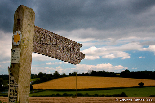 Hampshire footpath